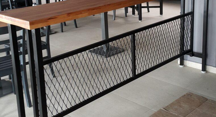 Satılık Bar Masası 45 x 245 x 110 cm