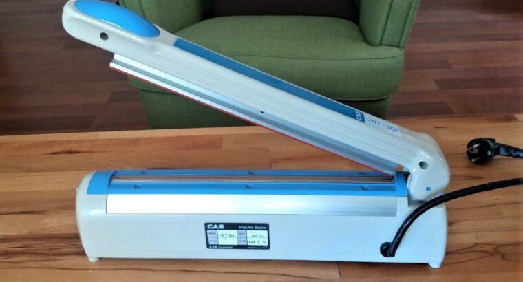Poşet Ağzı Yapıştırma Makinası CAS CNT 300