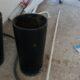 İkea Siyah Metal Saksı 35 x 60 cm