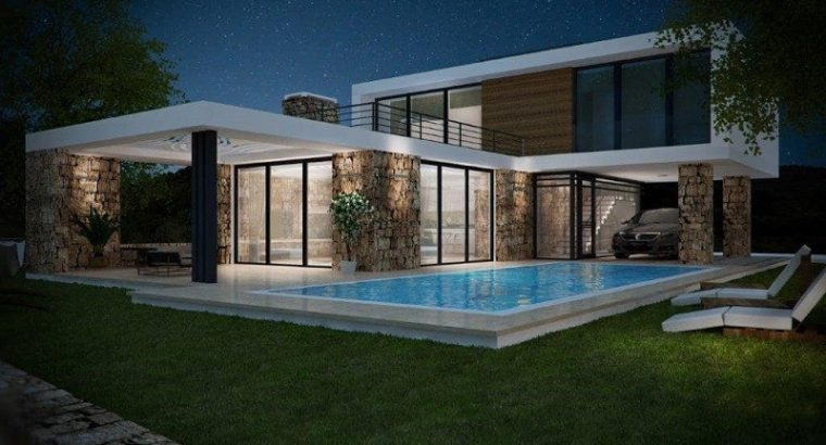 Kıbrıs Girne Esentepe Satılık Müstakil Dubleks Villa