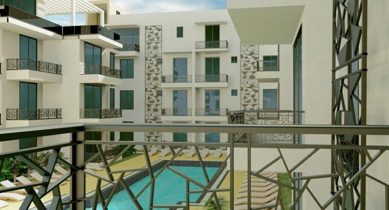 Kuzey Kıbrıs İskele Long Beach Satılık Teraslı 3+1