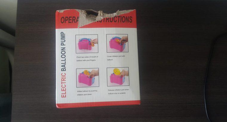 Satılık Smayda İki Çıkışlı Elektrikli Balon Şişirme Makinesi