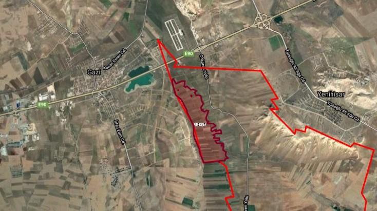 Ankara Temelli Çokören Suni Gölete 200 mt. Satılık Tarla